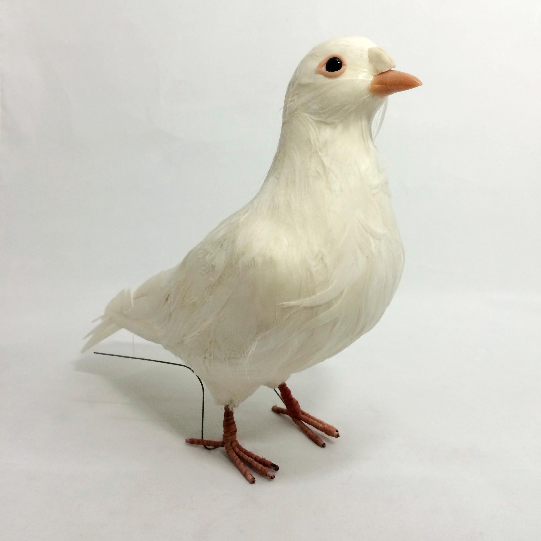 鳩の模型 右向き