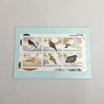 色々な鳩のいる切手シート