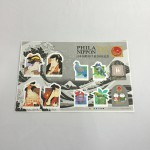 キジバトのいる切手シート