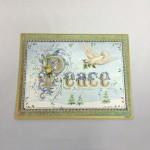 鳩のグリーティングカード
