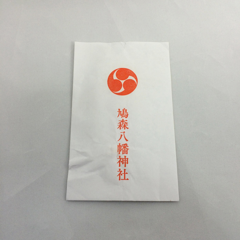 鳩森八幡神社 紙袋